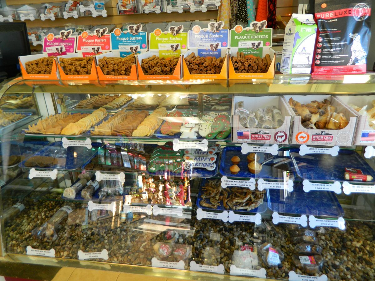 Soggy Doggy store display